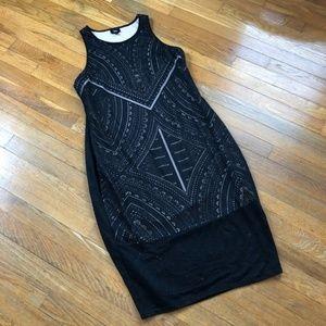 NWT- Black Sleeveless Holiday Cocktail Dress Large